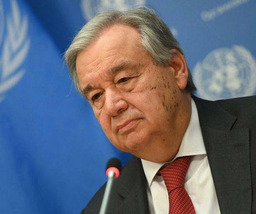 """الأمين العام للأمم المتحدة يدعو إلى الإفراج الفوري عن حمدوك ويأسف """"لتعدد"""" الانقلابات ويقول: القادة العسكريين يعتبرون أن لديهم حصانة كاملة، وأن بإمكانهم فعل ما يريدون"""